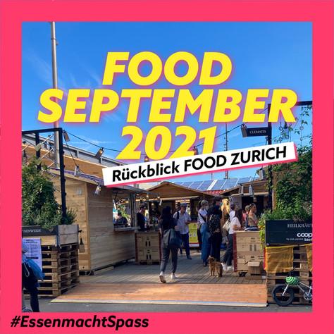 Essen macht Spass – ganz besonders im Food-September