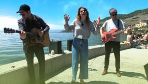 Anna Rossinelli und Band spielen zum Abschluss am Genfersee: