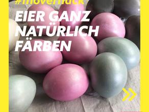 Eier ganz natürlich färben