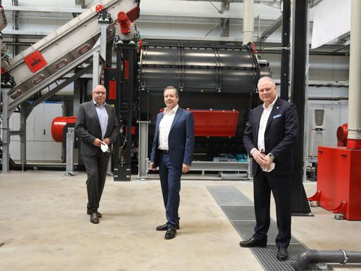 Neue Anlage recycelt jetzt auch Kunststoff-Aluminium-Anteile