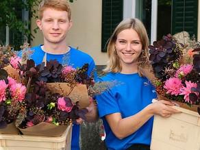 Blumenpost: Blumen bis vor die Haustür
