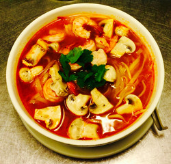 Tom Yum Noodles