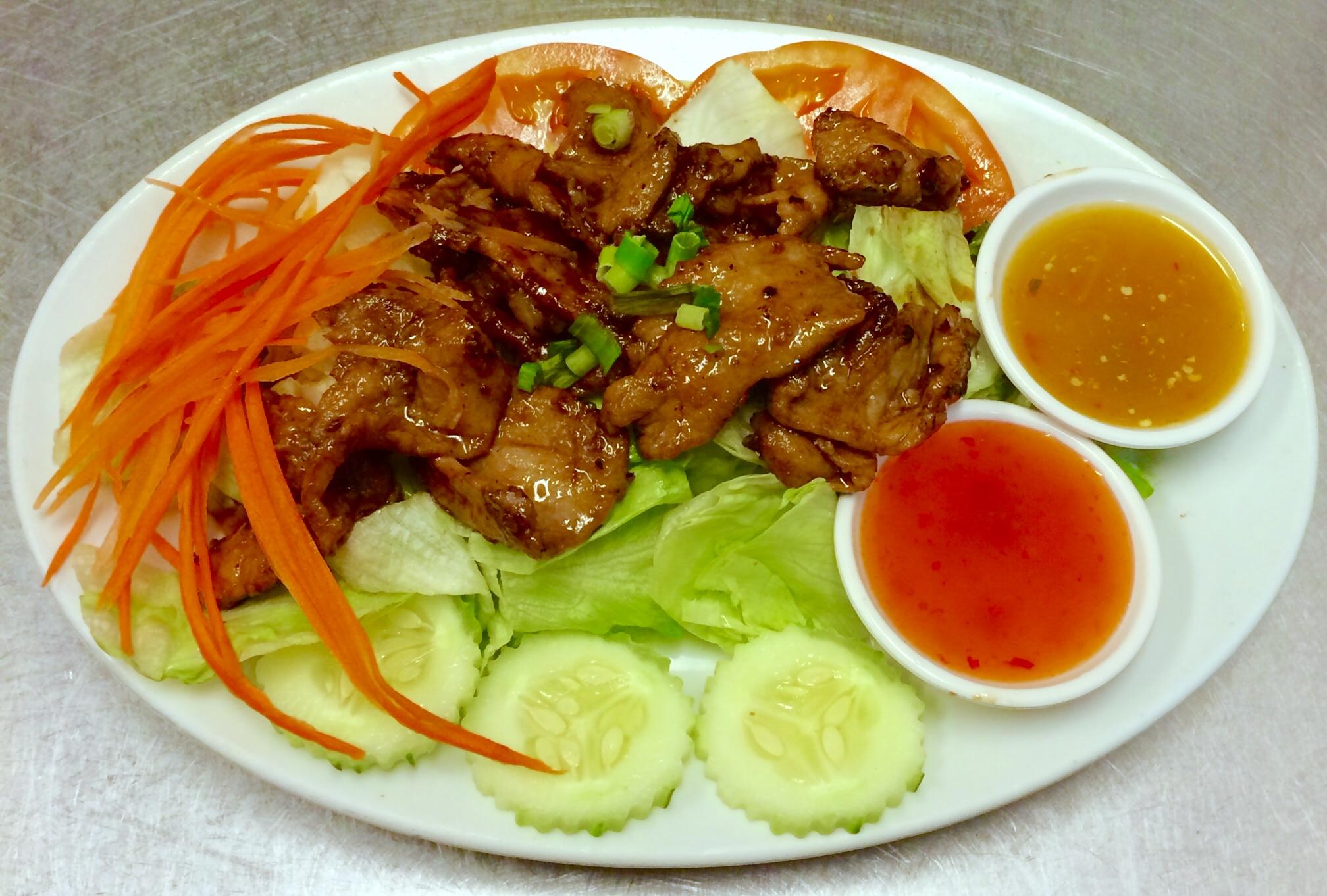 Grilled BBQ Pork