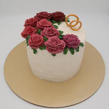 Engagement  / Anniversary Cake