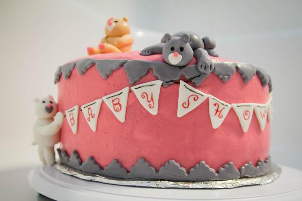 Baby Shower Bear Cake