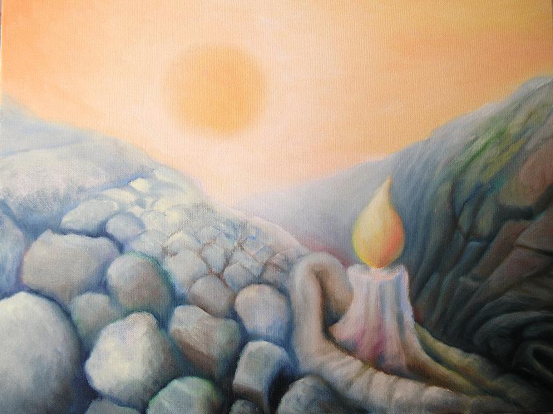 65 הנר והשמש