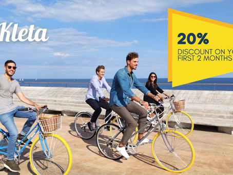 Kleta: Get your own bike with a monthly subscription.