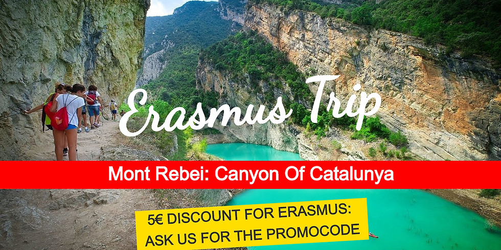 Canyon of Mont Rebei: nature adventure trip