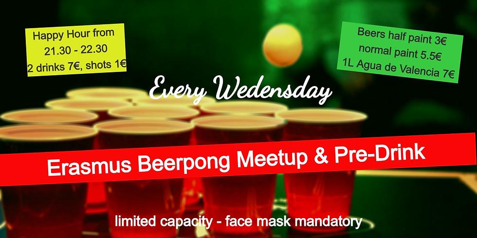 Erasmus Pre-Drink and Beerpong tournament