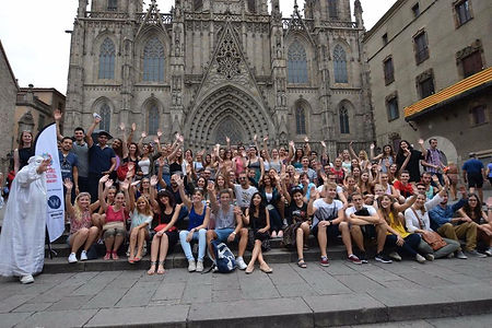 Erasmus meetings Barcelona
