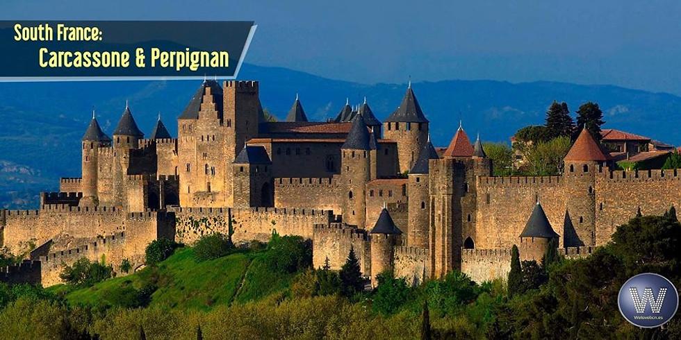Trip to France: Carcassone + Perpignan