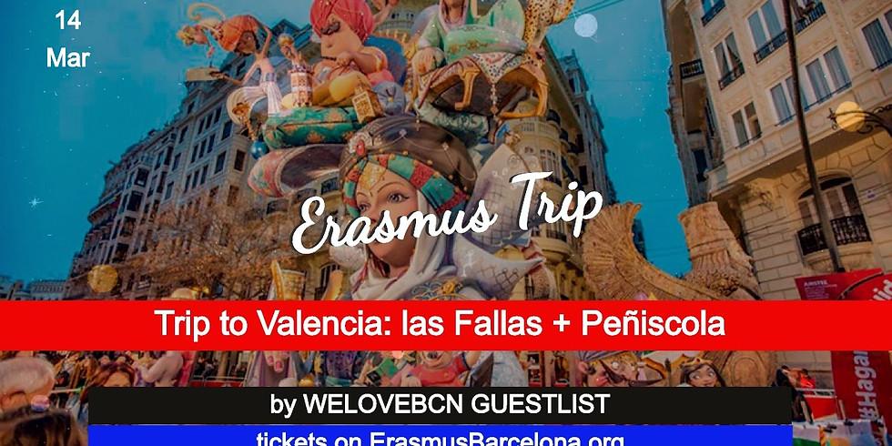 Fallas de Valencia + Peñiscola