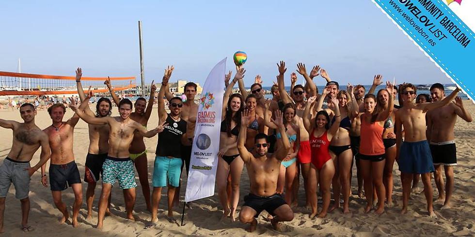 Welcome Erasmus Beach Meeting
