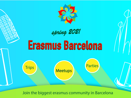 Welcome to Erasmus Barcelona Spring 2021