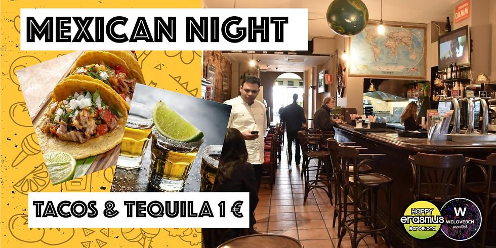 Welcome Erasmus & international Mexican night