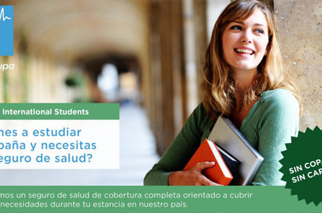 Contrata tu Seguro Medico de Estudiante para España