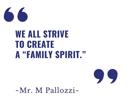 We All Strive To Create A Family Spirit_