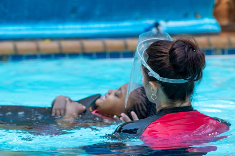We teach Learn-To-Swim