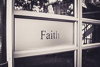 Our values-Faith