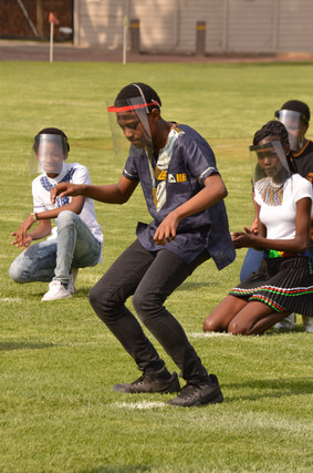 Dance fun. Grade 7s 2020