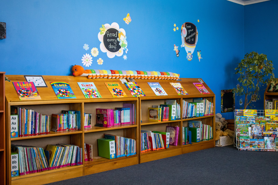Our Library is not only bright and cheerful, but it is also stocked with the latest books for each grade. In our library they get to discover a whole new world