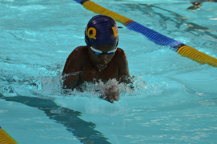Future swimming olympian in the making? Anything is possible with our learners