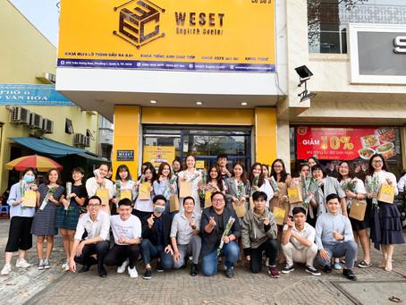 Trung tâm Tiếng Anh WESET tuyển dụng