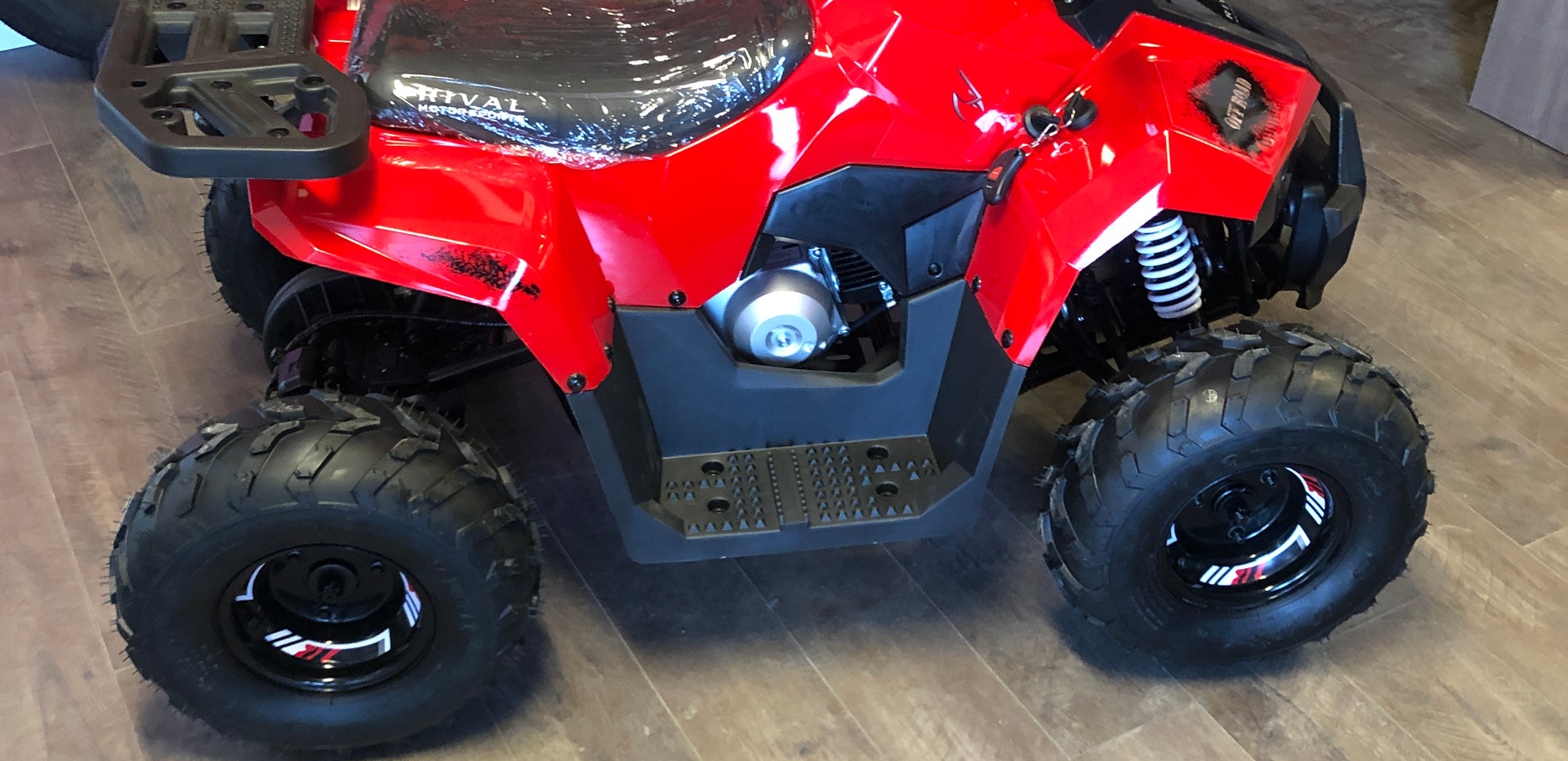 The MudHawk 6 is designed specifically for young riders to start learning the ropes of ATV riding. It's loaded with great features to let your young rider explore and enjoy the outdoors. Supervising adults will love the MudHawk 6's safety features like Wireless Engine Shut Off and the throttle limiter.