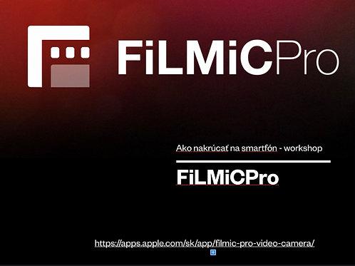 FiLMiCPro - nastavenie aplikácie