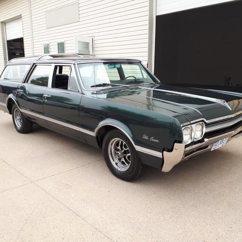 SOLD $7200 1966 Oldsmobile Vista Cruiser