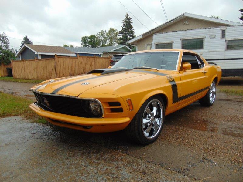 1970 Ford Mustang Custom Boss 302 Tribute