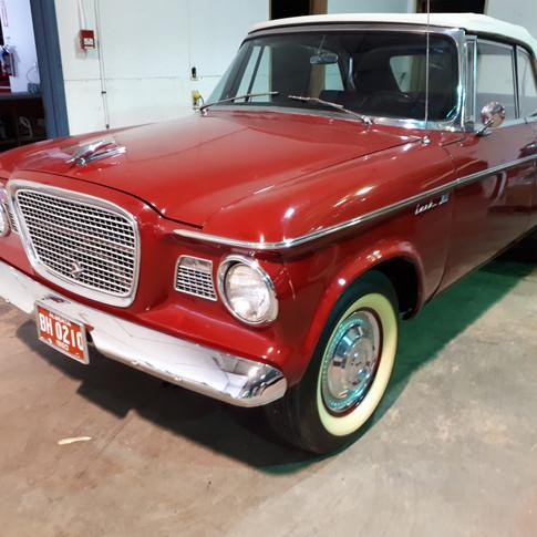 SOLD $11,000 1960 Studebaker Lark Convertible