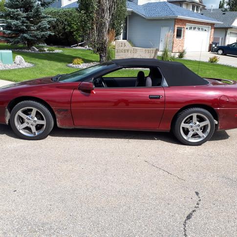 1995 Chevrolet Camaro Convertible