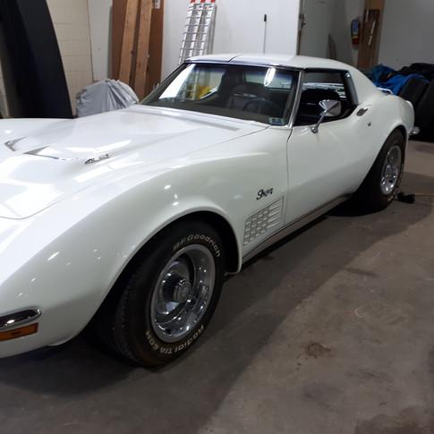 SOLD UNDISCLOSED AMT 1972 Chevrolet Corvette Stingray