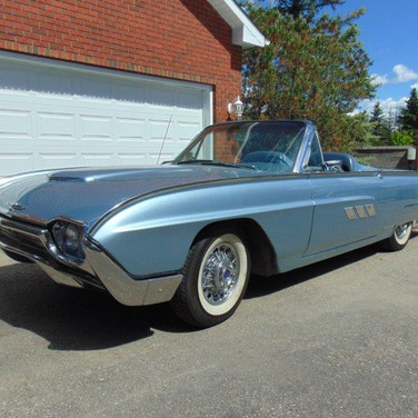 SOLD 1963 $28,250 Ford Thunderbird Convertible