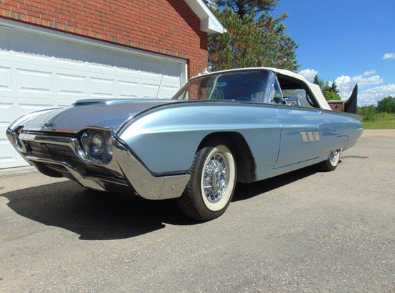 1963 Ford Thunderbird Retractable Hardtop