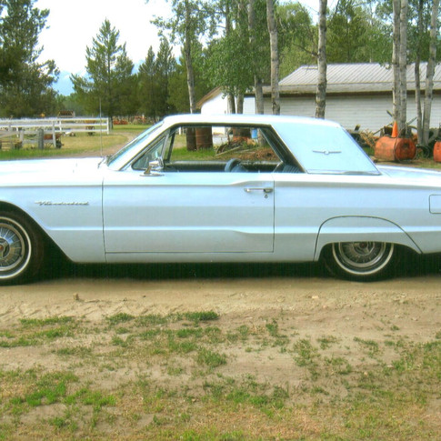 SOLD $9250 1964 Ford Thunderbird Landau