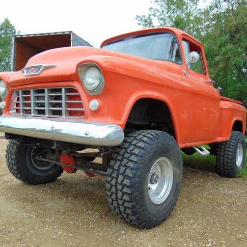 1956 Chevrolet Custom Built Pick Up 4x4