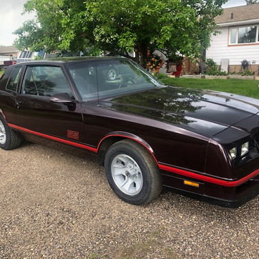 SOLD $12,000 1988 Chevrolet Monte Carlo SS