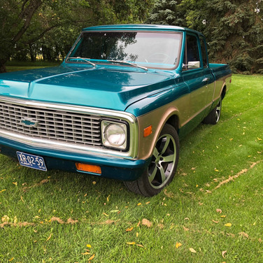 1972 Chevrolet C10 Extended Cab