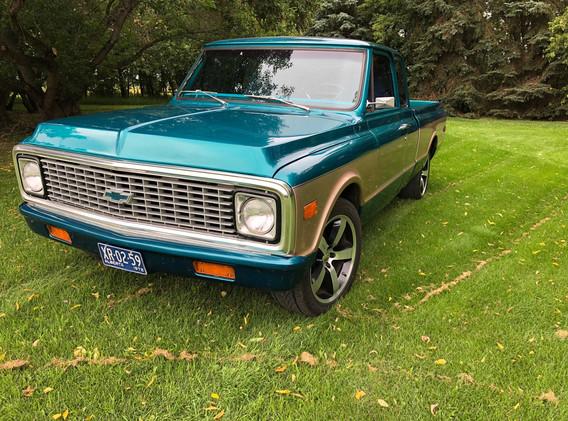 1972 Chevrolet C10 Custom Extended Cab