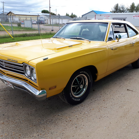 SOLD UNDISCLOSED AMT 1969 Plymouth Road Runner