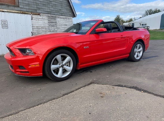 2014 Ford Mustang GT V8 Convertible