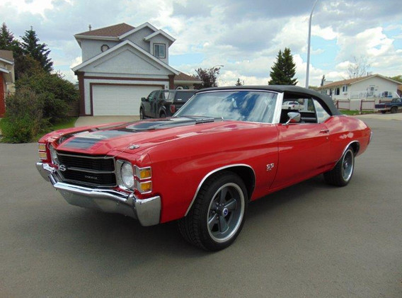 "1971 Chevrolet Chevelle Convertible ""SS Tribute Car"""