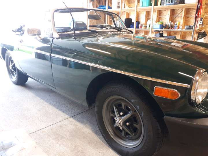 1974 1/2 MGB Convertible