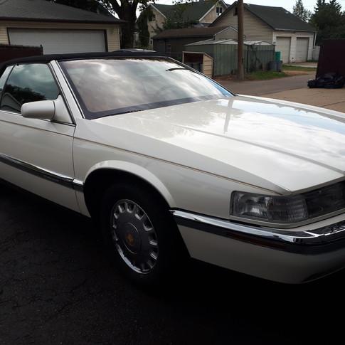 SOLD $6000 1994 Cadillac Eldorado Gold Edition