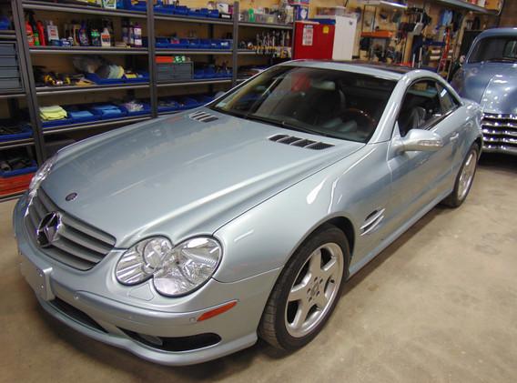 2003 Mercedes 5L500R