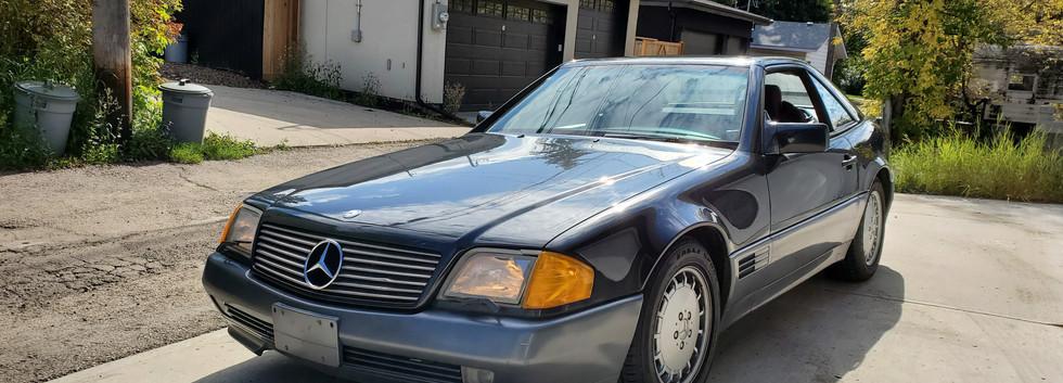 1990 Mercedes Benz SL500 Convertible