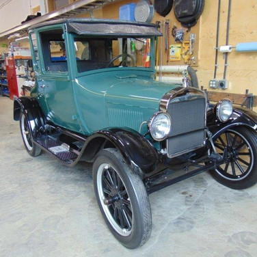 SOLD $13,000 1926 Ford Model T Coupe