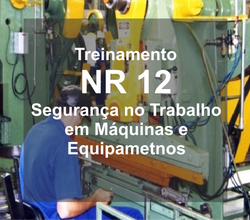 NR 12 - Treinamento